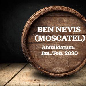 Ben Nevis Moscatel - Fassteilung