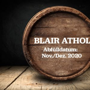 Blair Athol – Fassteilung Whisky Single Malt