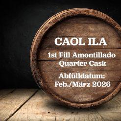Caol Ila Whisky Fassteilung